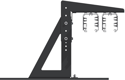 Accessories Bus Mounting Bracket Side View